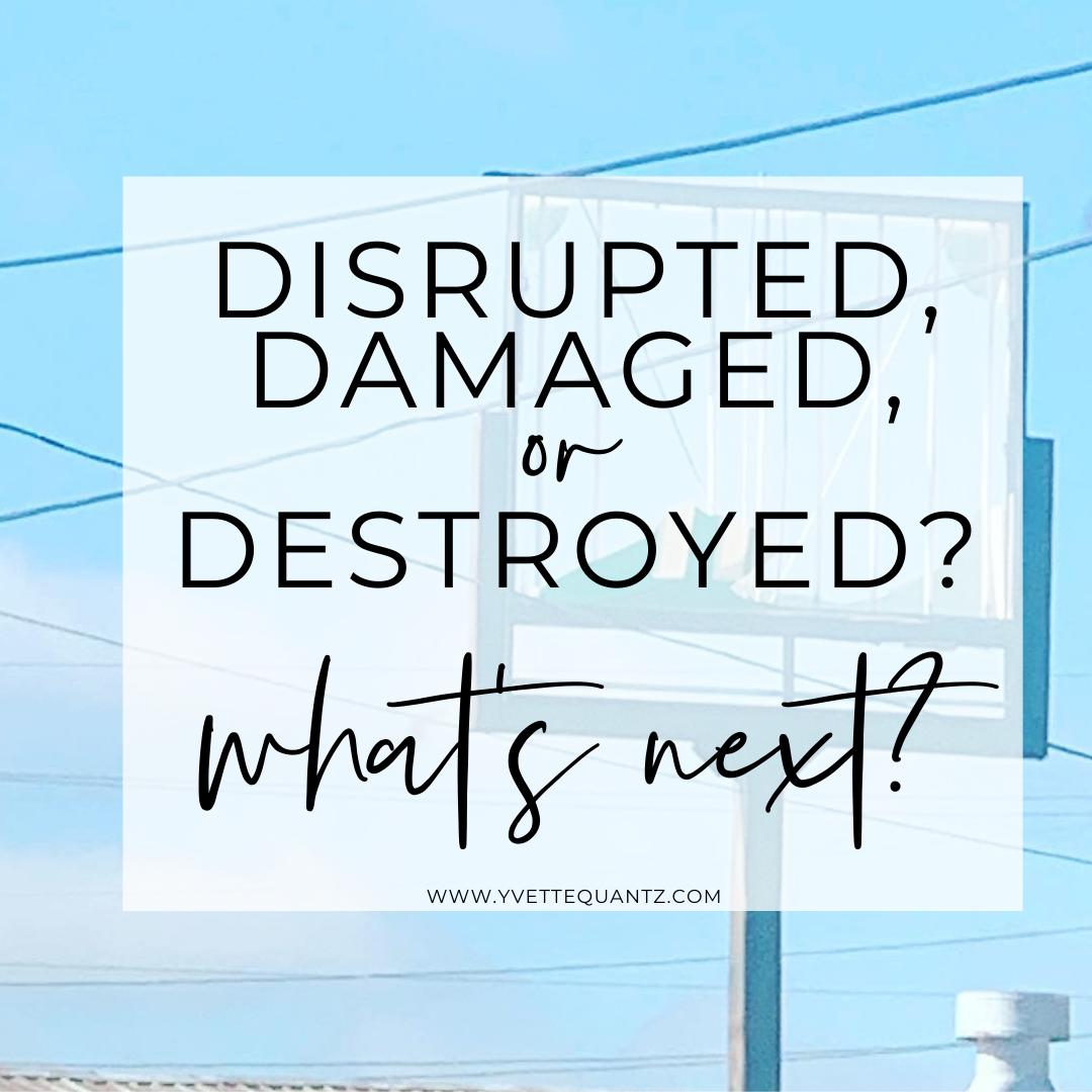 Disrupted, Damaged, or Destroyed?